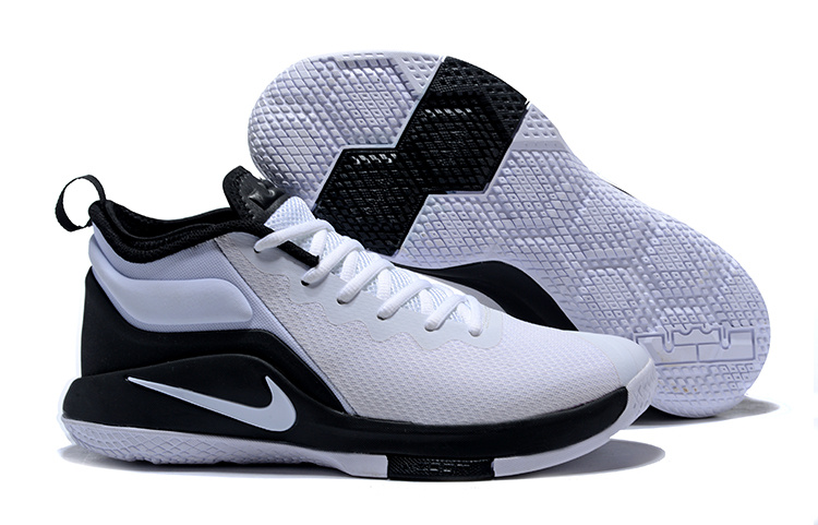 Nike Lebron Witness II White Black Shoes